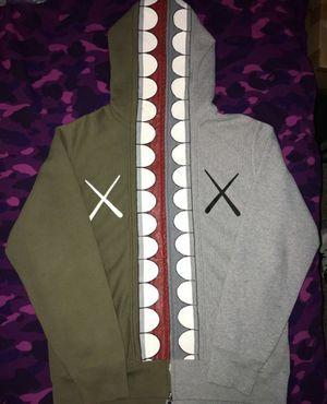 Bape X Kaws Chomper zip up hoodie for Sale in Simi Valley, CA
