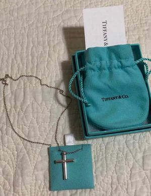 Tiffany cross necklace for Sale in Vacaville, CA
