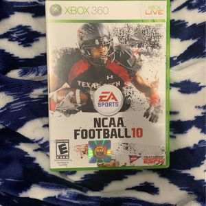NCAA Football 10 For Xbox 360 for Sale in Baton Rouge, LA