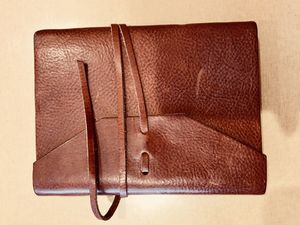 Cavallini leather journal made in Italy for Sale in San Francisco, CA