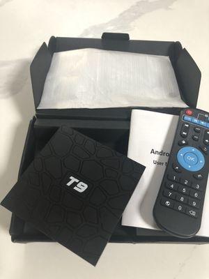 T9 Android TV box 4GB Ram 64Gb Rom for Sale in Santa Clarita, CA