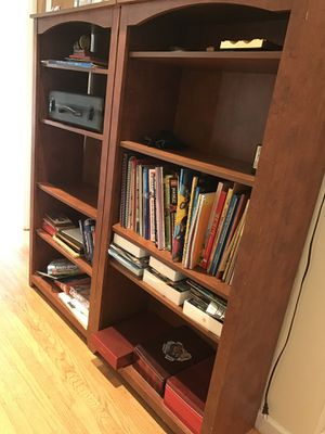 Two matching bookshelves for Sale in San Carlos, CA