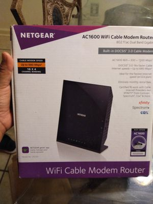 Router wifi for Sale in Norcross, GA