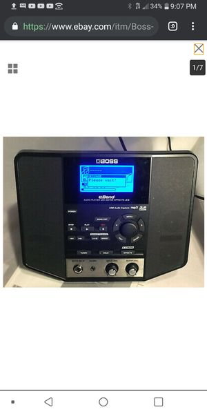 Boss E-band JS-8 guitar amp sound effects processor for Sale in Daly City, CA