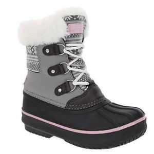 Size 4 Girl Snow Boot NEW London Fog Cold Weather Warm Lined for Sale in San Jose, CA