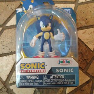 Brand New Sonic The Hedgehog Figure In Package Unopened for Sale in Orlando, FL