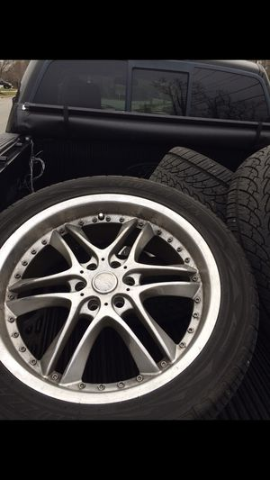 Rims with tires for Sale in Accokeek, MD