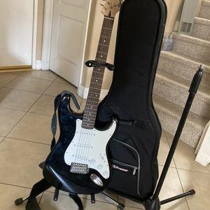 Guitar, Stand, Case, Mic Stand for Sale in Santa Clarita, CA