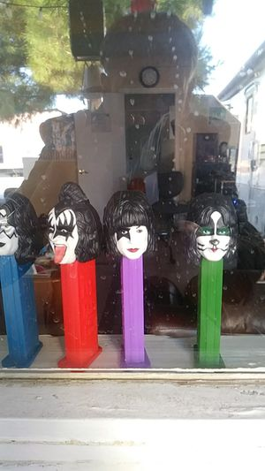 Kiss pez figurines for Sale in Las Vegas, NV