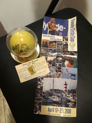 Mary Pierce Signed Tennis Ball for Sale in Quincy, IL