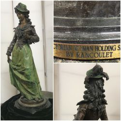 Bronze Statue Over Four Feet Tall Signature for Sale in Ontario,  CA