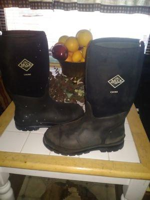 Mens muck rain boots for Sale in Berenda, CA