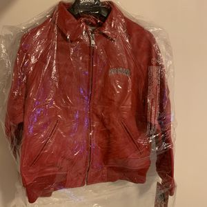 Supreme Schott Martin Wong 8 Ball varsity jacket red size M for Sale in Alhambra, CA