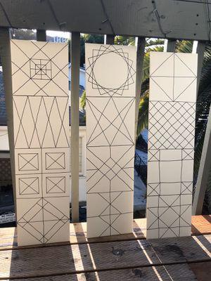Tile backsplash, floor abstract design for Sale in San Diego, CA