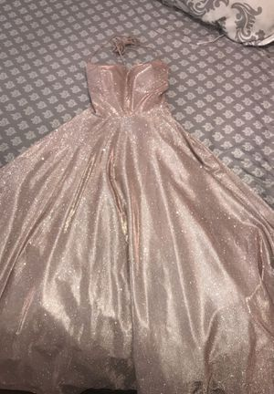 Rose Gold Ball Gown for Sale in Eagle Mountain, UT