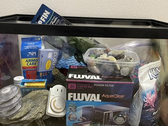 Aquarium, 10gal +filter And Extras for Sale in Portland,  OR