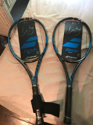 Babolat pure drive vs tennis racket for Sale in Fort Worth, TX