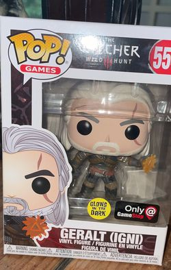 Limited Edition Witcher FUNKO Pop. for Sale in Tumwater,  WA