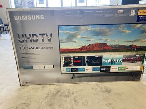 """Samsung 75"""" TV 📺 UN75NU6950F 0 W for Sale in Dallas, TX"""