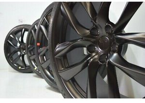 "21"" Tesla Model S Factory 21 Wheels rims Tires Factory OEM Black Arachnid for Sale in Solana Beach, CA"