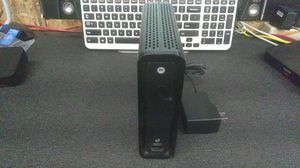 Cable Modem with Wifi Surfboard sbg6580 Xfinity. for Sale in Vancouver, WA