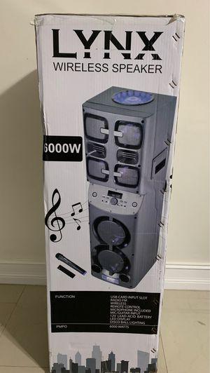 Speaker wireless new atalax for Sale in Hialeah, FL