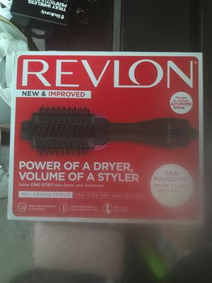 Revlon new and improved power of a dryer volume of a styler for Sale in Boston, MA