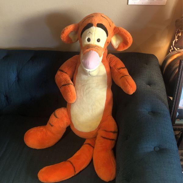 Disney Classic Tiger Plush Toy Nostalgia Teddy Bear