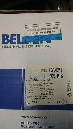 Belden CAT 5E Cable for Sale in Vichy,  MO