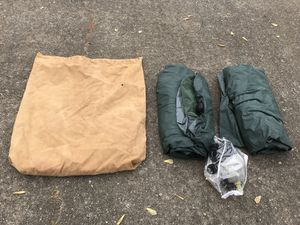 2 Double Air Mattresses w/ Pump and Canvas Carry Bag/Camping for Sale in Woodstock, GA