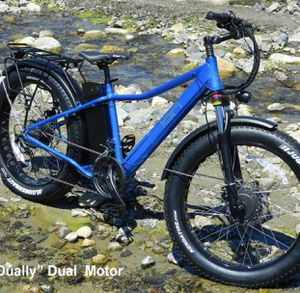 ION Dually Super Cruiser Dual Motor 27 Speed Fat Tire All Terrain - eBike - Electric Bike for Sale in San Gabriel, CA