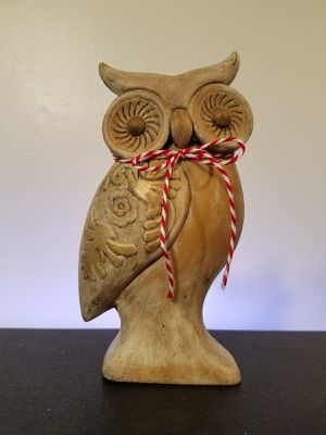 OWL DECOR HAND PAINTED for Sale in Los Angeles, CA