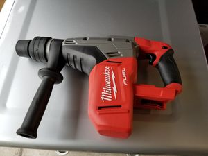 Milwaukee M18 FUEL 18-Volt Lithium-Ion Brushless Cordless 1-9/16 in. SDS-Max Rotary Hammer (Tool-Only). Brand new for Sale in San Jose, CA