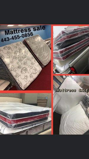 Mattress FREE BOX SPRING SAME DAY DELIVERY BEST for Sale in Fort Washington, MD