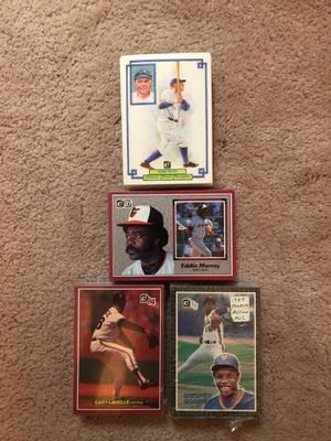 Baseball Cards - 4 Sets of Oversized Cards for Sale in South Brunswick Township, NJ