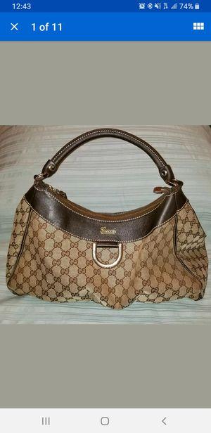 Authentic Vintage Gucci D-Ring Hobo Shoulder Bag for Sale in Las Vegas, NV