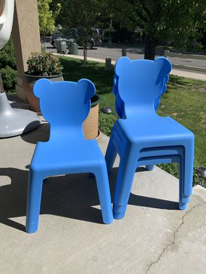 Brand new set of 4 kids chairs for Sale in West Valley City, UT