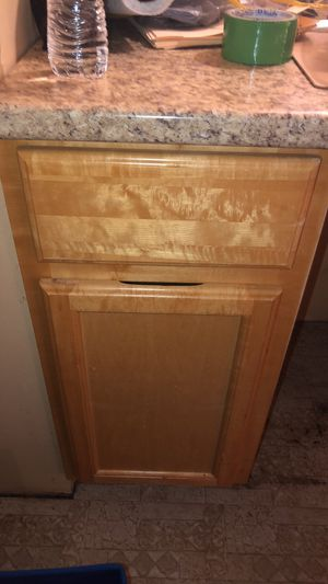 Misc kitchen cabinets - but separate or as a group - free sink and microwave if entire set purchased for Sale in Glen Burnie, MD