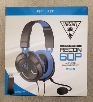 Turtle Beach Recon 60P headset for Sale in Tracy, CA