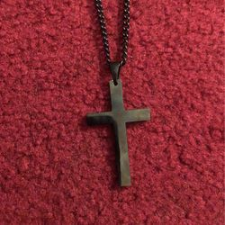Black Cross Necklace for Sale in Irving,  TX