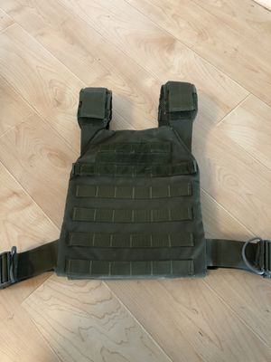 Condor Sentry Plate Carrier / Weight Vest 20lb plate set for Sale in Virginia Beach, VA