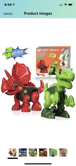 Take apart toys/ dinosaurs for Sale in Bradenton, FL
