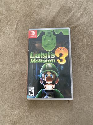 Nintendo Switch Luigis Mansion 3 for Sale in Bridgeport, CT
