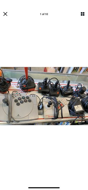 LOT Of Playstation/Nintendo Asciiware & Joysticks for Sale in Castro Valley, CA