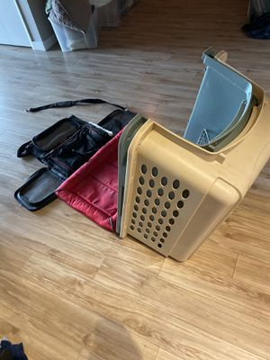 Pet crate and carrier for Sale in Seattle, WA