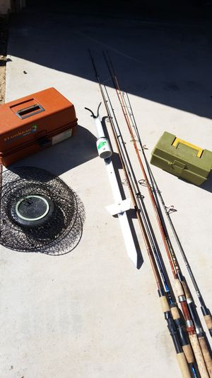 Fishing stuff for Sale in Adelanto, CA