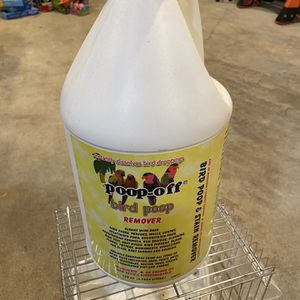 Poop Off Bird Cage Cleaner Half Full for Sale in Woodway, WA