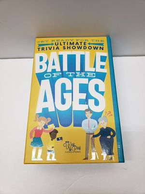 Kids Vs Adults Battle Of Ages Trivia Game for Sale in Bushkill, PA