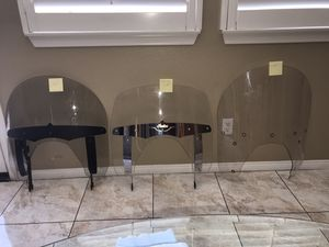 Indian Motorcycle Windshields (Various Sizes) for Sale in Alta Loma, CA