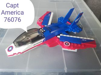 Lego Marvel 76076 Captain America Jet Pursuit for Sale in Secaucus,  NJ